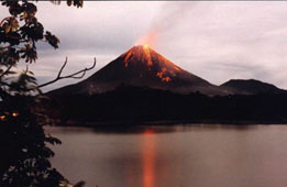 Costa Rica, Volcán Arenal